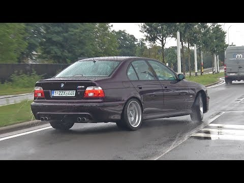 E39 BMW M5 With X-Pipe - Engine Exhaust Sound Video
