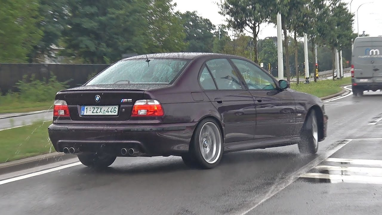BMW E39 M5 >> Bmw M5 E39 V8 With Supersprint X Pipe Skytune Exhaust Sound