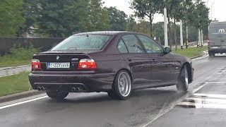 BMW M5 E39 V8 with Supersprint X-Pipe & Skytune Exhaust Sound!