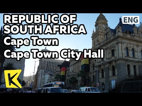 【K】South Africa Travel-Cape Town[남아공 여행-케이프타운]넬슨 만델라 연설지/City Hall/Nelson Mandela/Darling Street