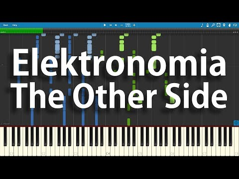Elektronomia - The Other Side | Synthesia Piano Cover