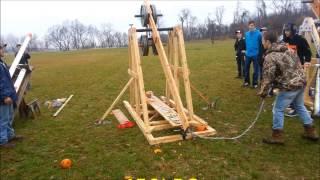 Ringgold High School Tech Class Trebuchet