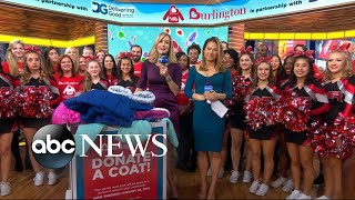 11th annual Burlington Coat Drive kicks off live on