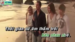 [Karaoke] Để Anh Phía Sau Em - Khánh Phương (full beat)