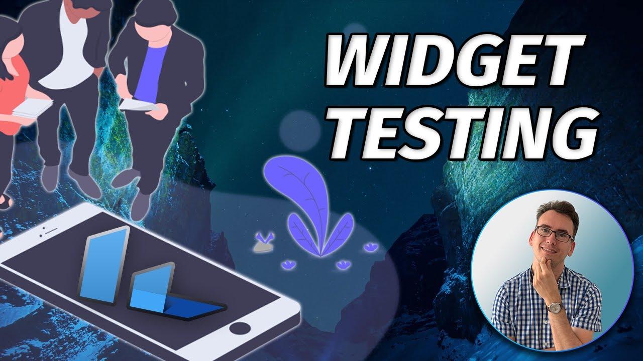 Flutter Widget Testing - Test Scrollable Widgets - Test AssertionError in Widget