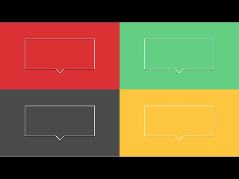 Create Outlined Div Boxes (see-through) With Arrows And Pointers, Using CSS