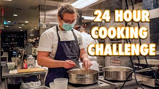 24 Hour Overnight Cooking Challenge in My Old Restaurant