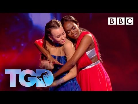 Winner Ellie and Oti Mabuse's tear-jerking duet to Never Enough - The Greatest Dancer Final | LIVE