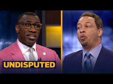 Chris Broussard on Shaq's comments about LeBron's legacy and why he disagrees | NBA | UNDISPUTED
