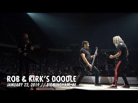 Metallica: Rob & Kirk's Doodle (Birmingham, AL - January 22, 2019)