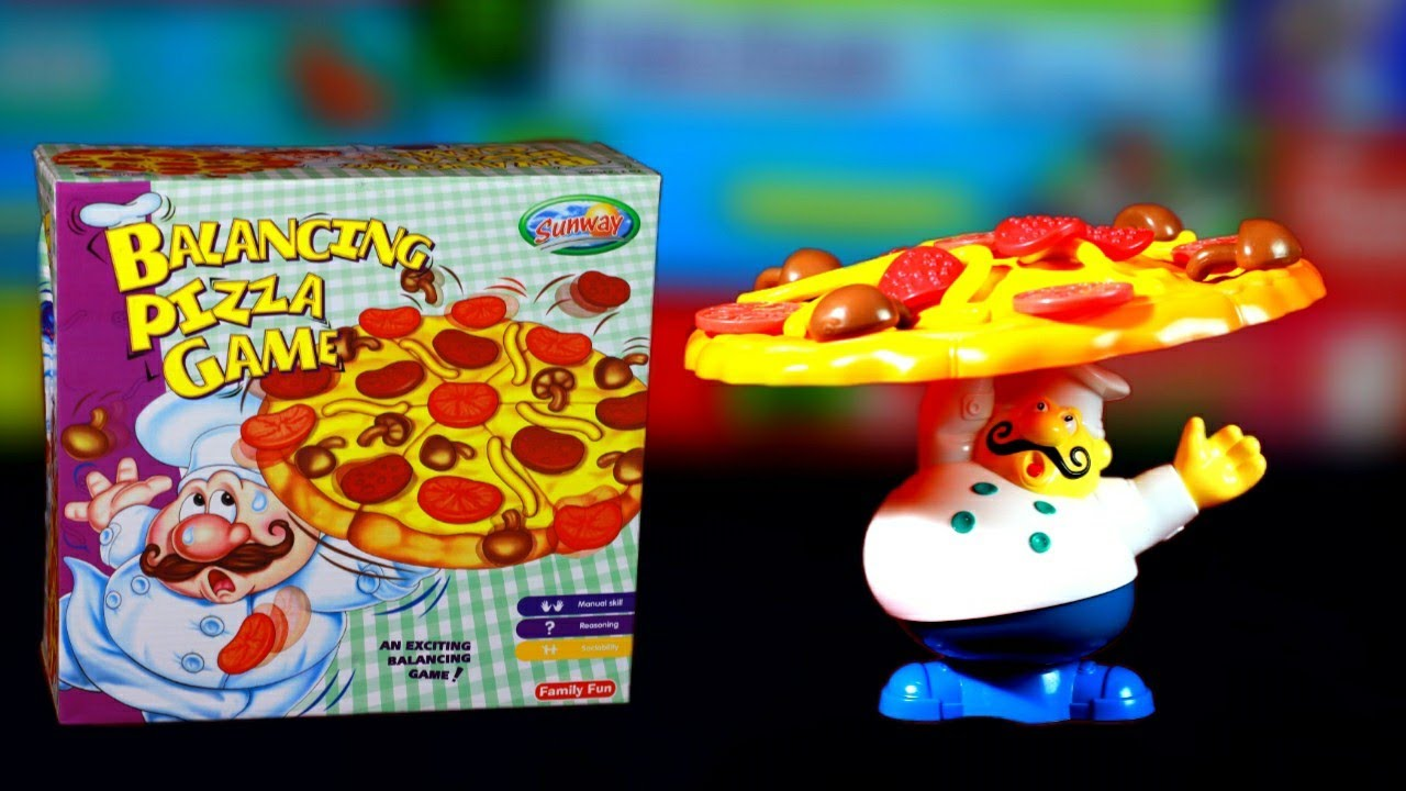 Fantastic Family Game, Balancing Pizza Game,  Unboxing & Fun