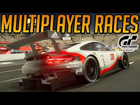Gran Turismo Sport: Multiplayer Mayhem (Demo Gameplay)