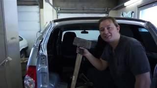 Кузовной ремонт Chevrolet Niva после ДТП с Камазом. Автоваз как ты клеишь стекла?