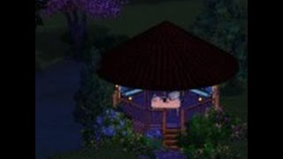 The Sims 3 Урок 1 Строим Беседку