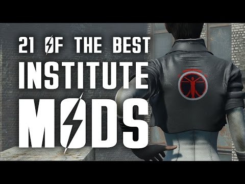 21 of the Best Institute Fallout 4 Mods for the Xbox One & PC
