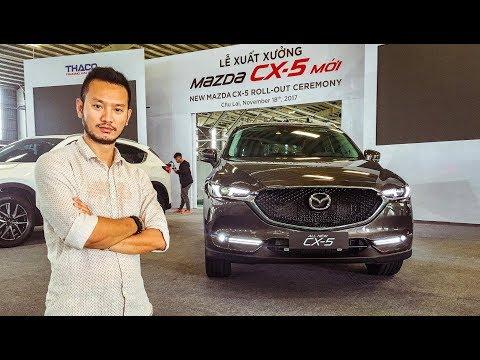 Khám phá chi tiết Mazda CX5 2018 giá từ 859 triệu ở Việt Nam