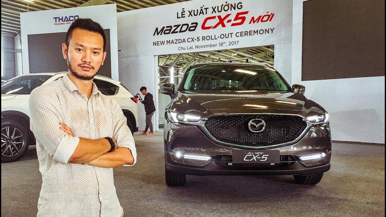 Khám phá chi tiết Mazda CX5 2018 giá từ 859 triệu tại Việt Nam