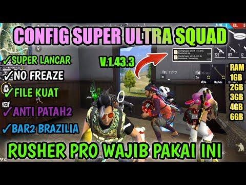 CONFIG SUPER ULTRA SQUAD!!! FIX LAG FREE FIRE -- CARA MENGATASI FREE FIRE LAG DI RAM 1GB - 동영상