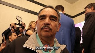 ABEL SANCHEZ REACTS TO CANELO TESTING NEGATIVE FOR CLENBUTEROL