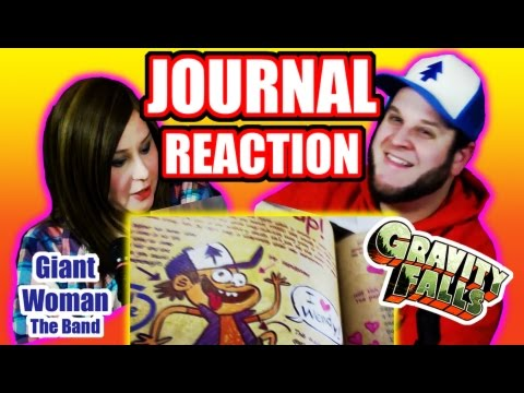 Gravity Falls - Journal - Reaction - Giant Cartoon Show #37 (G F Friday #59)