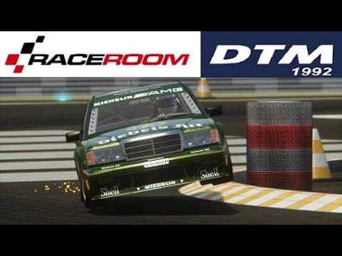 RACE ROOM-DTM 1992-RACES ONLINE ACCIDENTS... |