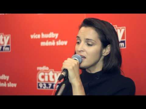 Jana Kirschner - Pokoj v duši   CITY LIVE na radiu City (29.5.2014)