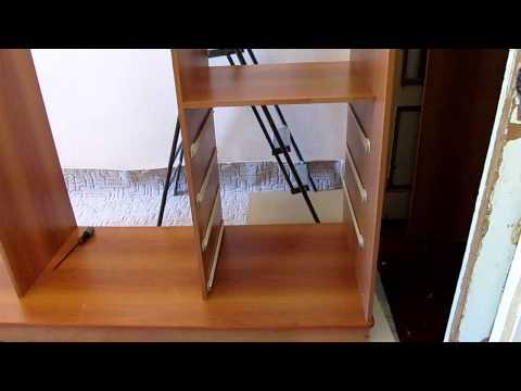 видео: установка  корпуса  шкаф-купе.mov