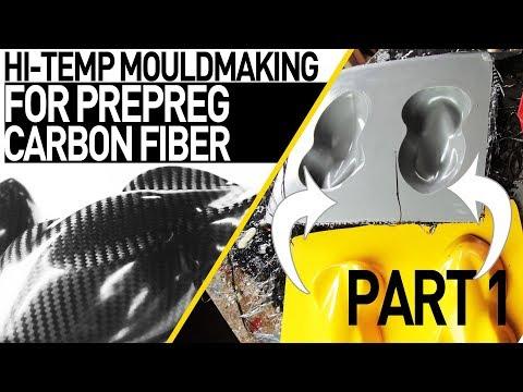 Carbon Fiber Prepreg Ready Moulds (Tutorial) ***PART1***