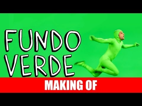 Making Of – Fundo Verde