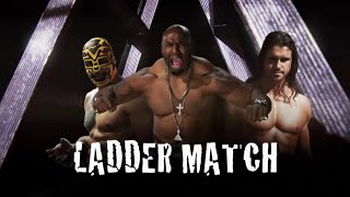 Lucha Underground 12/10/14 - TRIPLE THREAT LADDER MATCH