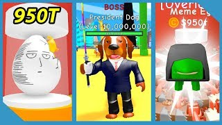 Spending 950 Trillion Dollars on Overpowered Pet!! - Roblox RPG Simulator