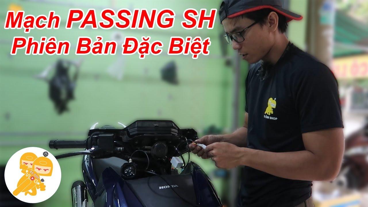 Hướng dẫn lắp mạch PASSING SH dành cho Đèn Bi Cầu Mini - Xe Ôm Shop