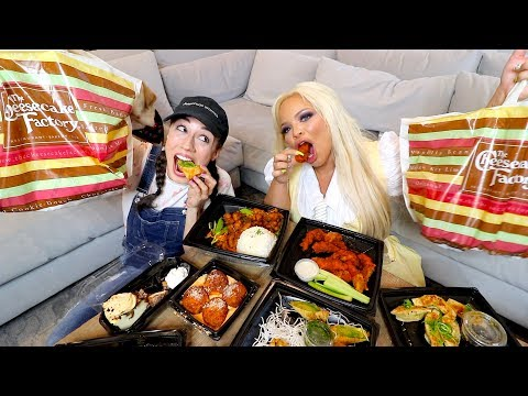 CHEESECAKE FACTORY MUKBANG & MY DATING LIFE feat TRISHA PAYTAS!