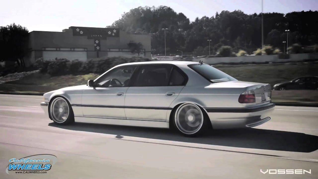 BMW 7 Series E38 On Vossen CV1 Wheels By California