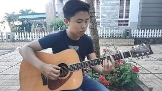 (Hương Tràm) Ngốc - Fingerstyle Guitar Cover by Tran Quoc Huy