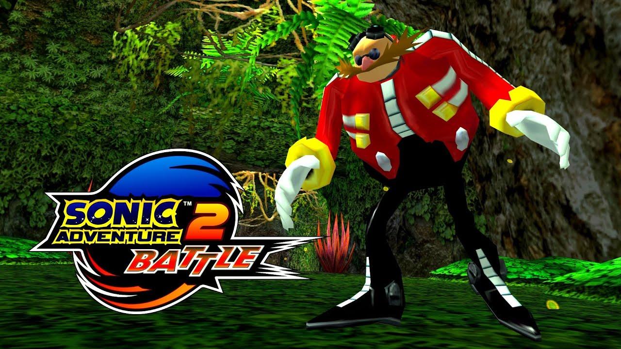 Sonic Adventure 2 Battle Green Forest Mechless Eggman Real