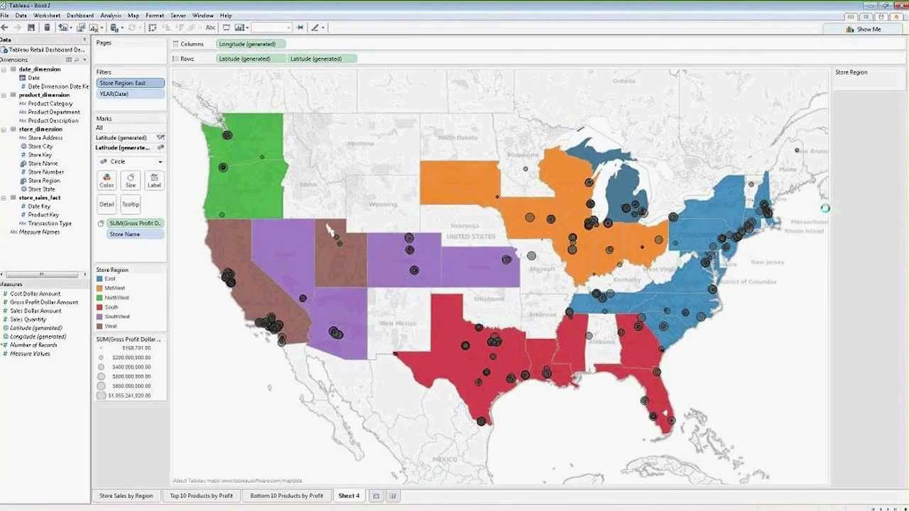 Utilizing Tableau And Hp Vertica Demo Geo Coding And Mapping Youtube