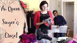 Two Opera Singers Organize a Closet | Container Store Scarf Solution!