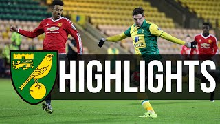 Video Gol Pertandingan Norwich City U-21 vs Manchester United U-21