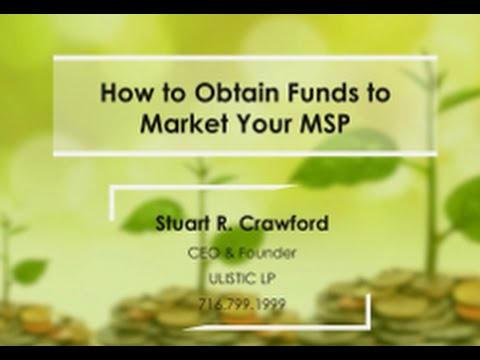 Marketing Development Funds: How to Obtain Funds to Market Your MSP