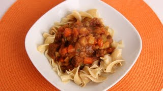 Beef & Root Vegetable Stew Recipe - Laura Vitale - Laura in the Kitchen Episode 540