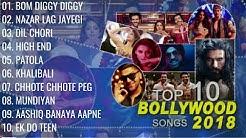 "Top 10 Bollywood Songs 2018  (Audio Jukebox ) | ""New Hindi Songs 2018"" | V4H Music Latest Songs"