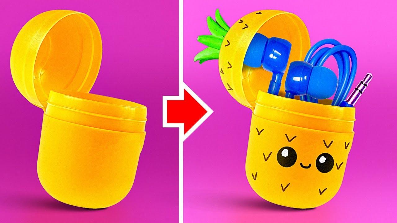 35 Cara Untuk Menggunakan Kembali Barang Barang Plastik Youtube Cara mendaur ulang barang bekas