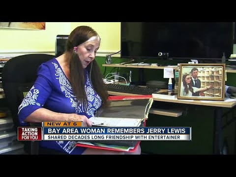 Tampa woman shares friendship with Jerry Lewis