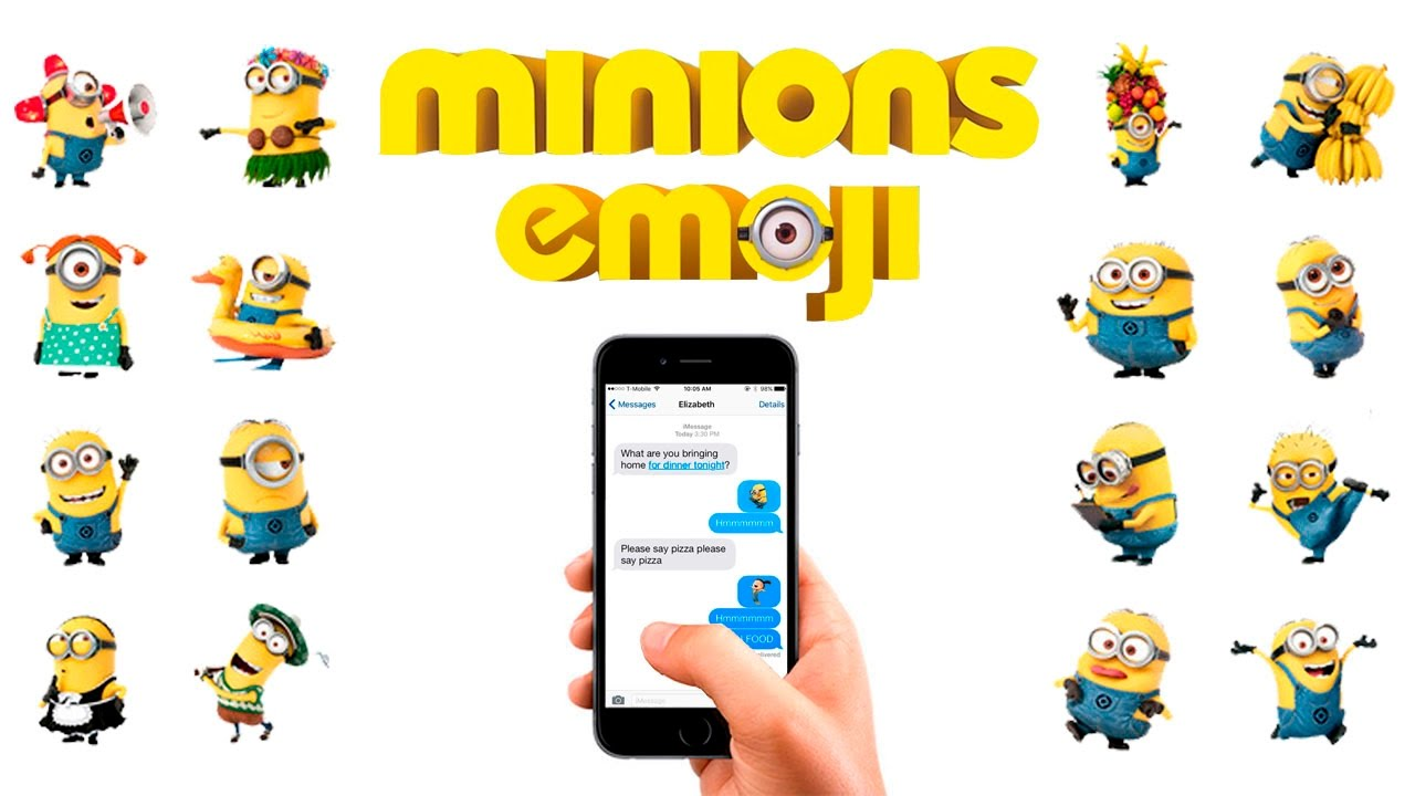 minions emoji keyboard for ios android download emoji - Emoji Iphone Gratuit