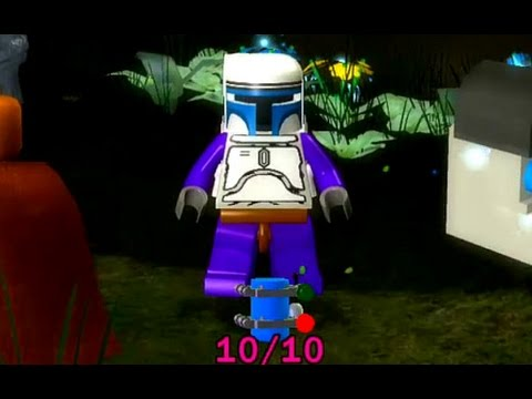lego star wars: the complete saga - blue minikit guide #1