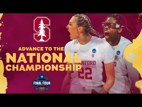 Stanford vs. South Carolina - Final Four Women's NCAA Tournament Extended Highlights