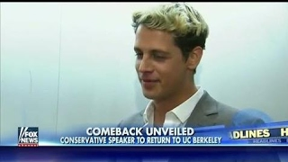 Milo Yiannopoulos To Return To UC Berkely