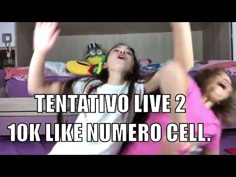 Live 2: A 10K LIKE DURANTE LA LIVE VI LASCIO IL MIO NUMERO CELLULARE BY MARGHE GIULIA KAWAII