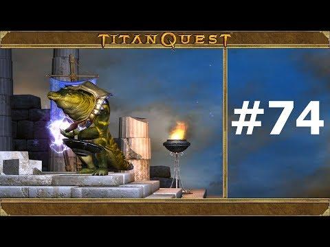 Titan Quest. #74. Тайная борьба. Прохождение без комментариев.